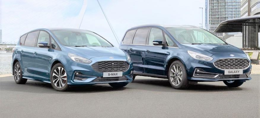 Νέα υβριδικά αυτοκίνητα Ford Galaxy και S-Max φθάνουν το 2021!!! | STARTEG.GR