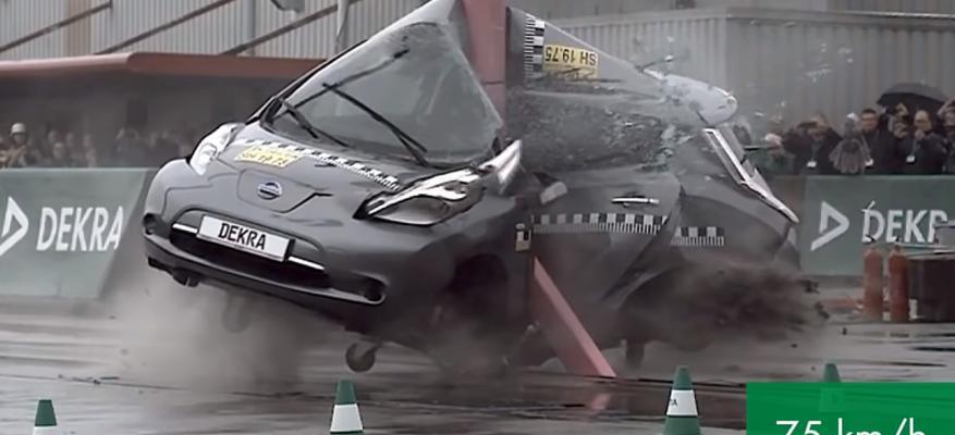 Τα ηλεκτρικά οχήματα είναι το ίδιο ασφαλή με τα συμβατικά!!! | STARTEG.GR