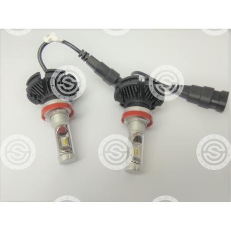 LED Η8 SET Χ3 | STARTEG.GR