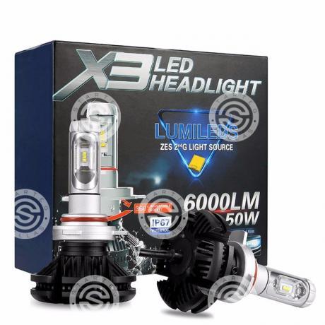 LED 9005 SET Χ3 HB3_STARTEG